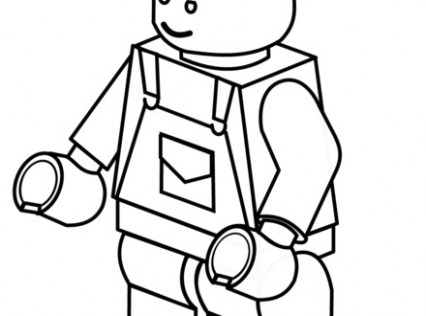 426x316 Construction Worker Coloring Pages New Construction Worker