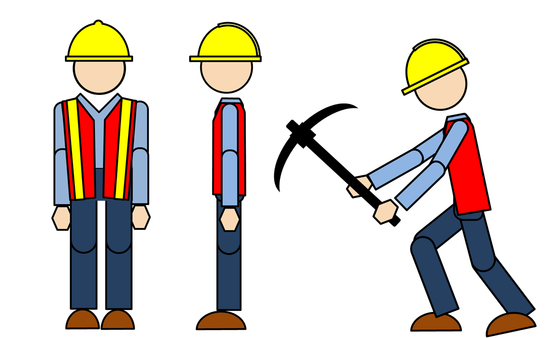 1130x687 Female Construction Worker Clipart Free