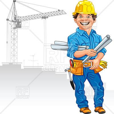 400x400 Cheerful Engineer