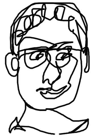 Continuous Contour Line Drawing