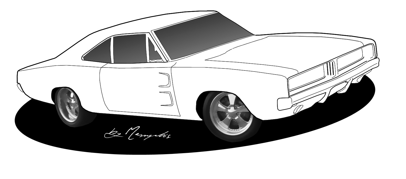 1600x706 Drawings Of Cool Cars Black And White Car Free Download Clip Art