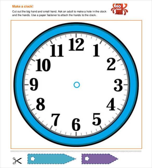 Cool Clock Drawings