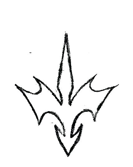 428x535 Cool Easy Drawing Designs Dragon Symbol