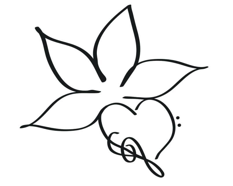 806x644 flower designs to draw best flower outline ideas flower design
