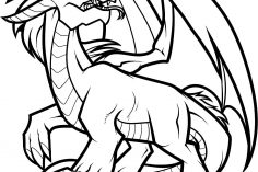 236x157 Dragon Anime Drawings Awesome Step Cool A Age Colored