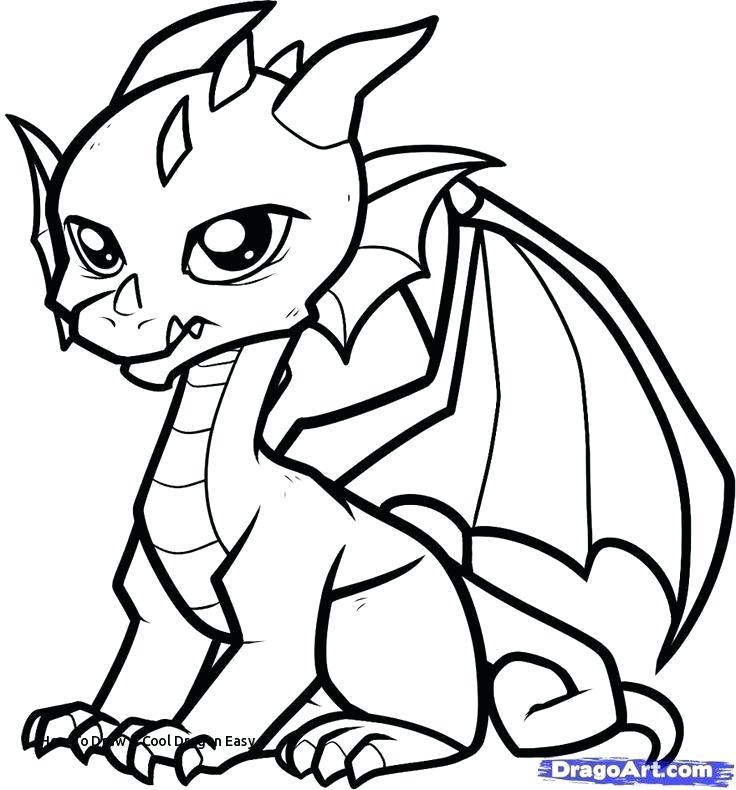 736x790 Dragon Easy Drawing Dragon Easy Drawing At Chinese Dragon Head