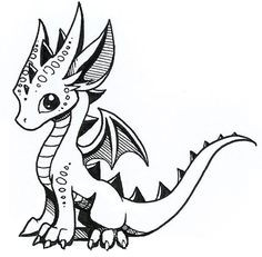 236x231 Cool Baby Dragon Drawing Sketch Awesome How To Draw Dragons Pics