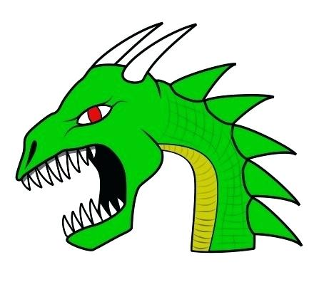 447x396 How To Draw A Cool Dragon Easy