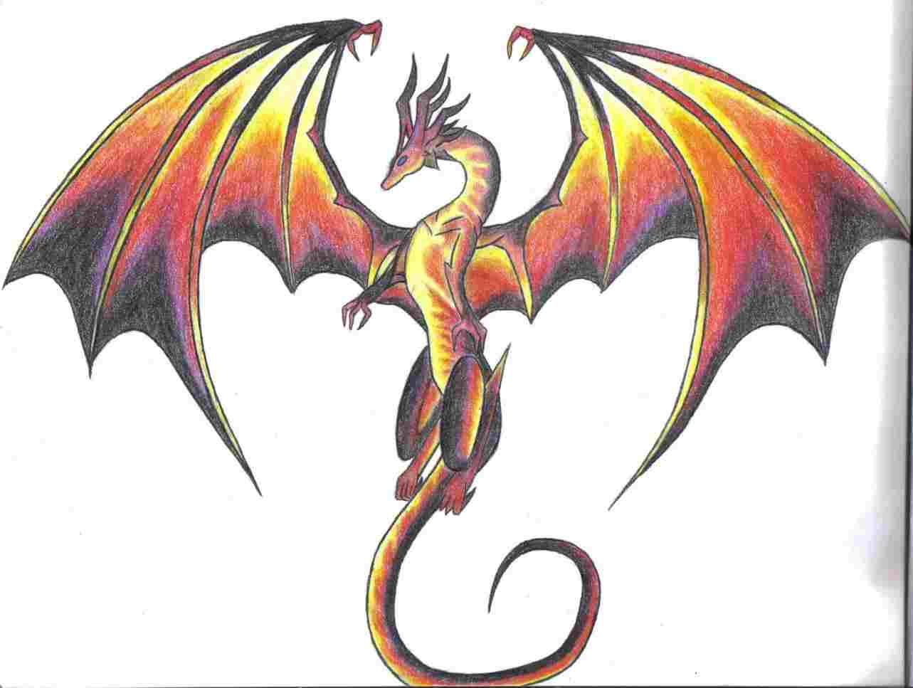 1283x967 To Draw Cool Dragon Pictures Ing Free Download Clip Art