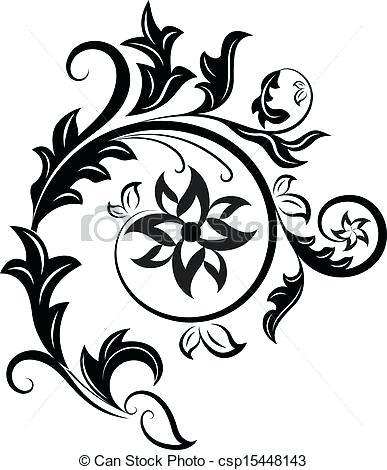 387x470 Design Black And White