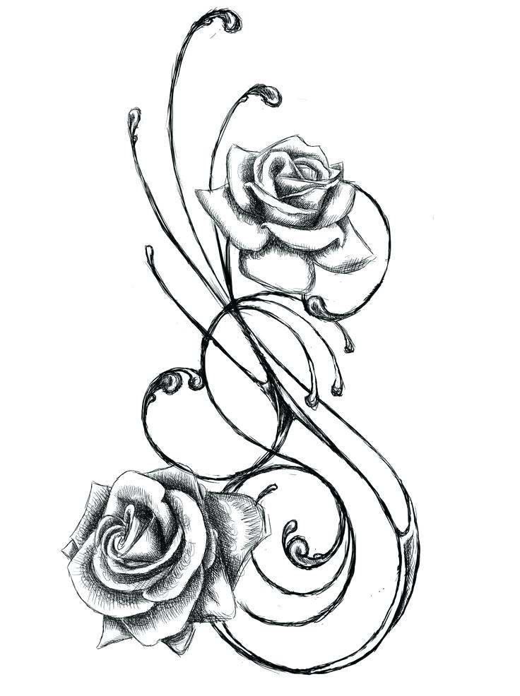 736x986 Black And White Designs To Draw Best Line Drawings Images Painting