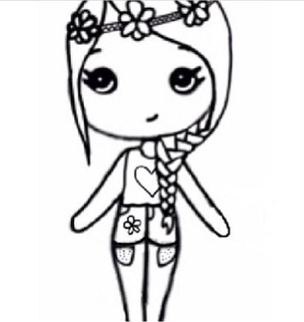 605x642 Drawing Easy Ideas Girls
