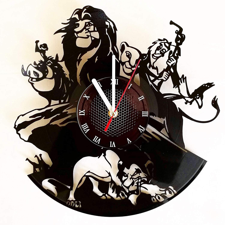 1500x1500 Lion King Vinyl Record Wall Clock Get Unique Home