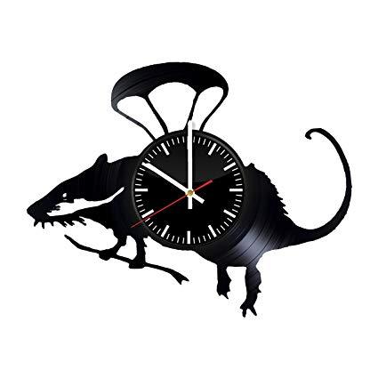 425x425 Rat Vinyl Record Wall Clock Get Unique Home Room
