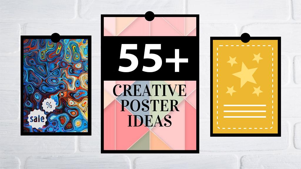 1024x576 Best Creative Poster Ideas, Templates Tips