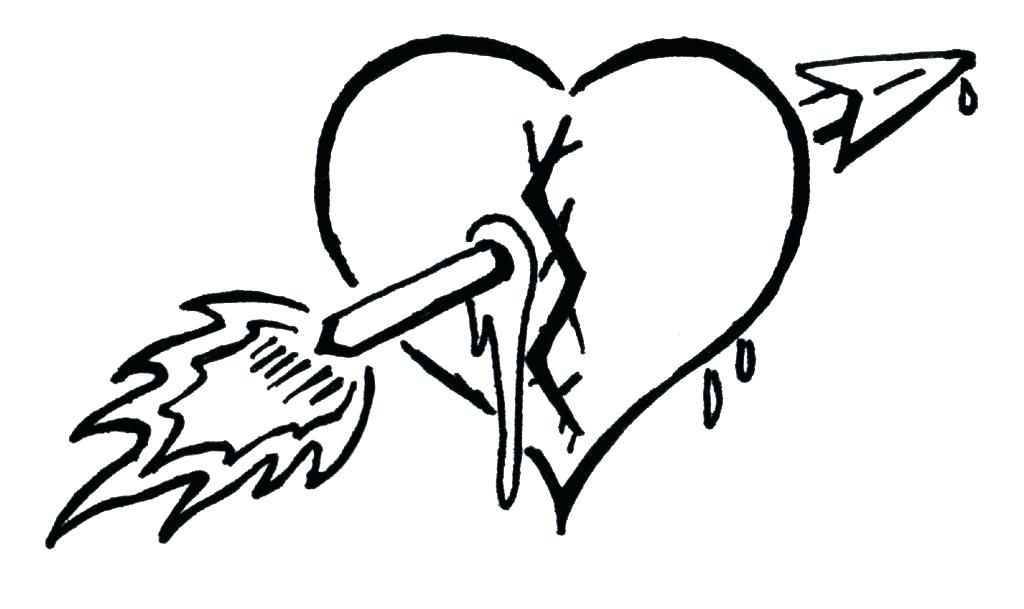 1024x609 drawing broken heart cry and draw image broken heart how to draw