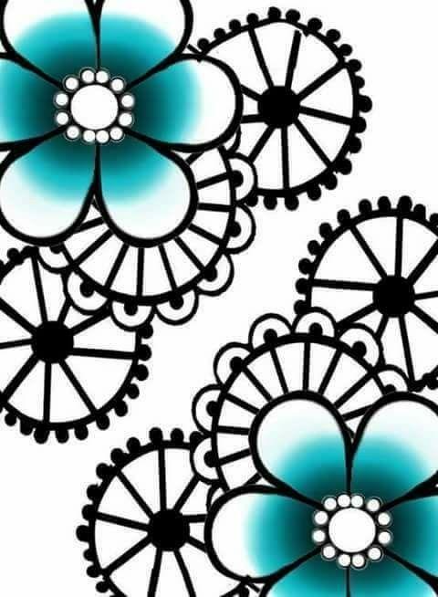 480x654 Flower Plus Flowers, Cool Drawings, Drawings