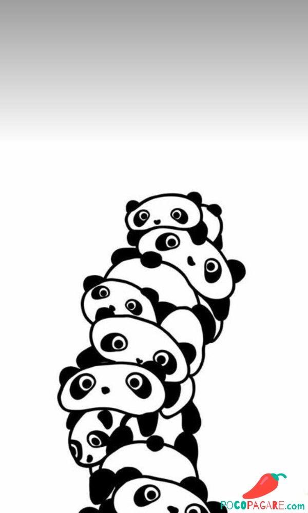 600x1000 Pandaa In Panda Painting, Panda