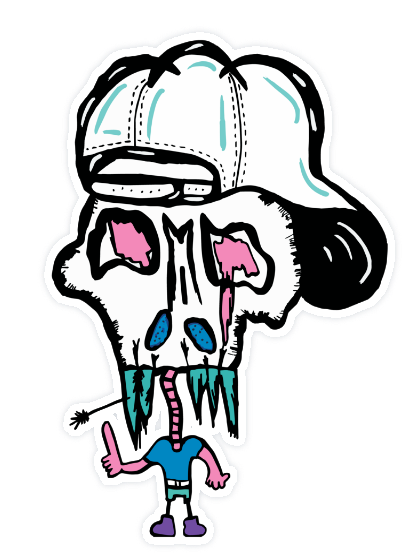 420x560 cool dude sticker paradoodle