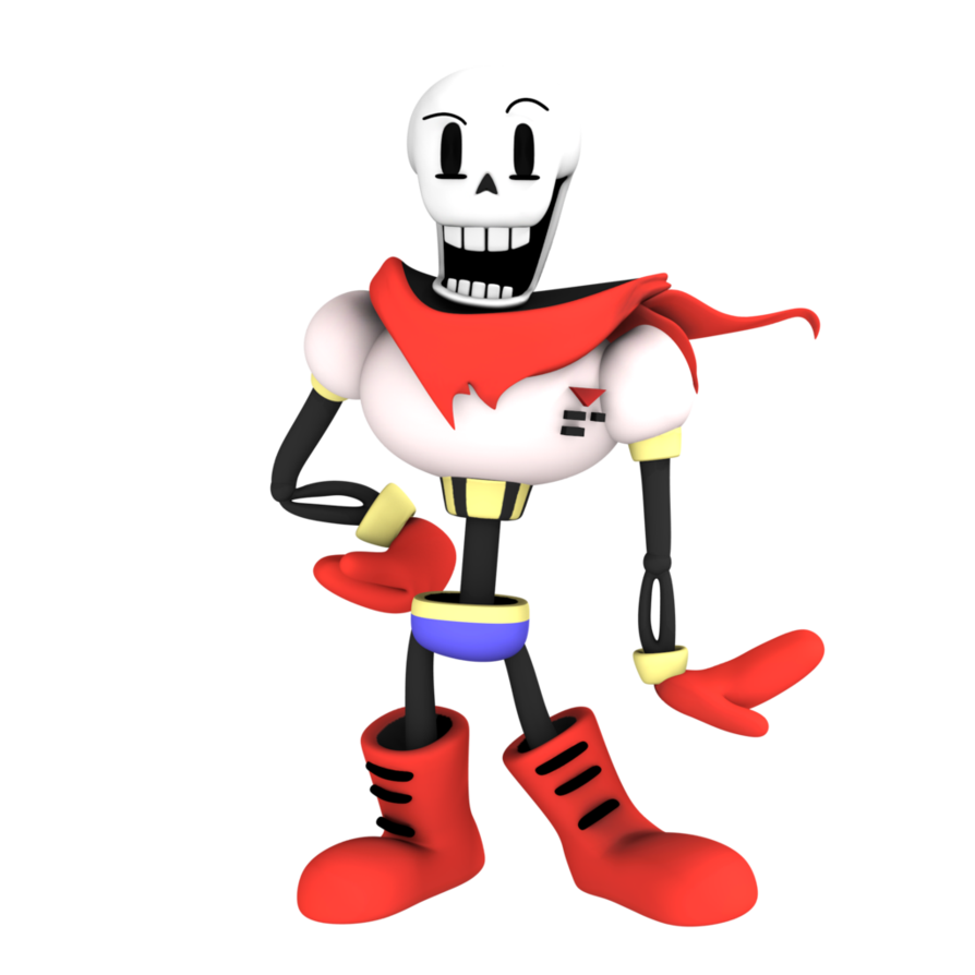 894x894 Collection Of Free Undertale Transparent Cool Dude Papyrus