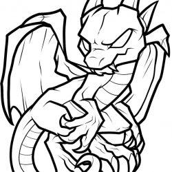 250x250 Dragon Drawings Black And White Head Hard Cool Tribal Clip Art