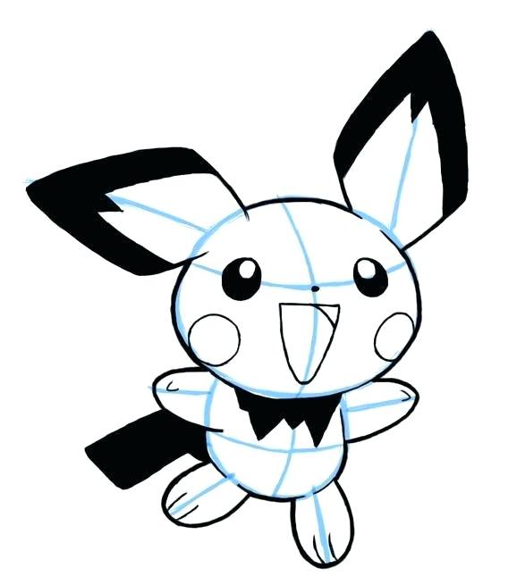 578x655 Easy Pokemon Drawing How To Draw From Step Easy Pokemon Drawings