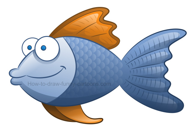 640x444 How To Create Fish Drawings