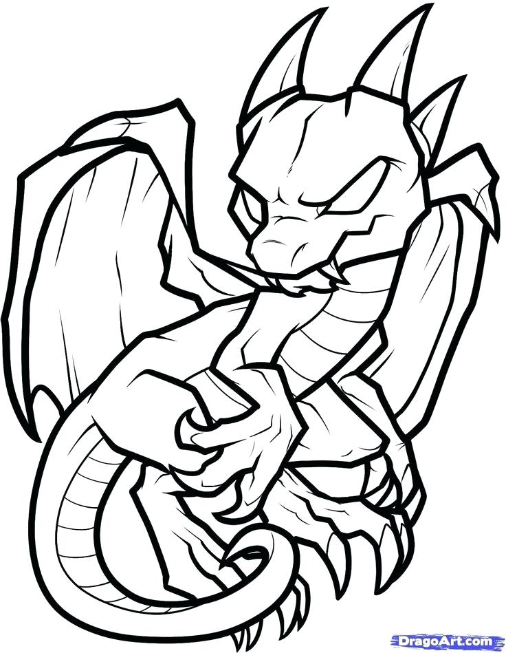 736x949 Cool Dragons To Draw
