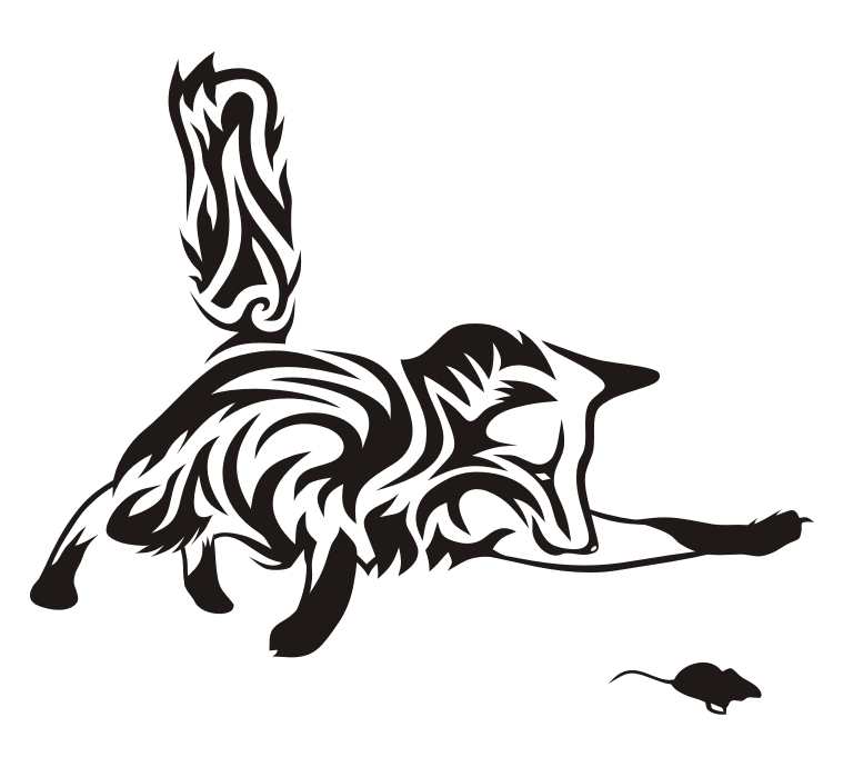 759x690 Cool Tribal Fox Designs To Draw