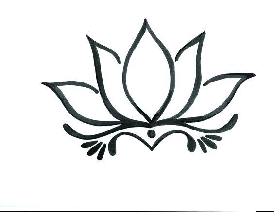 564x437 flower designs to draw best flower outline ideas flower design