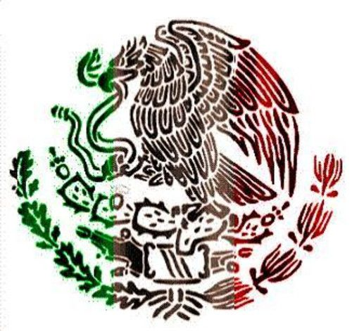 500x471 drawing of mexican flag mexican flag mexico mexican