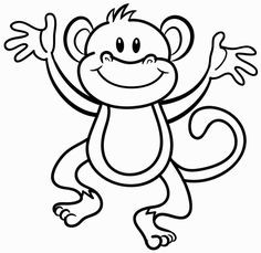 236x229 New Evil Monkey Coloring Pages