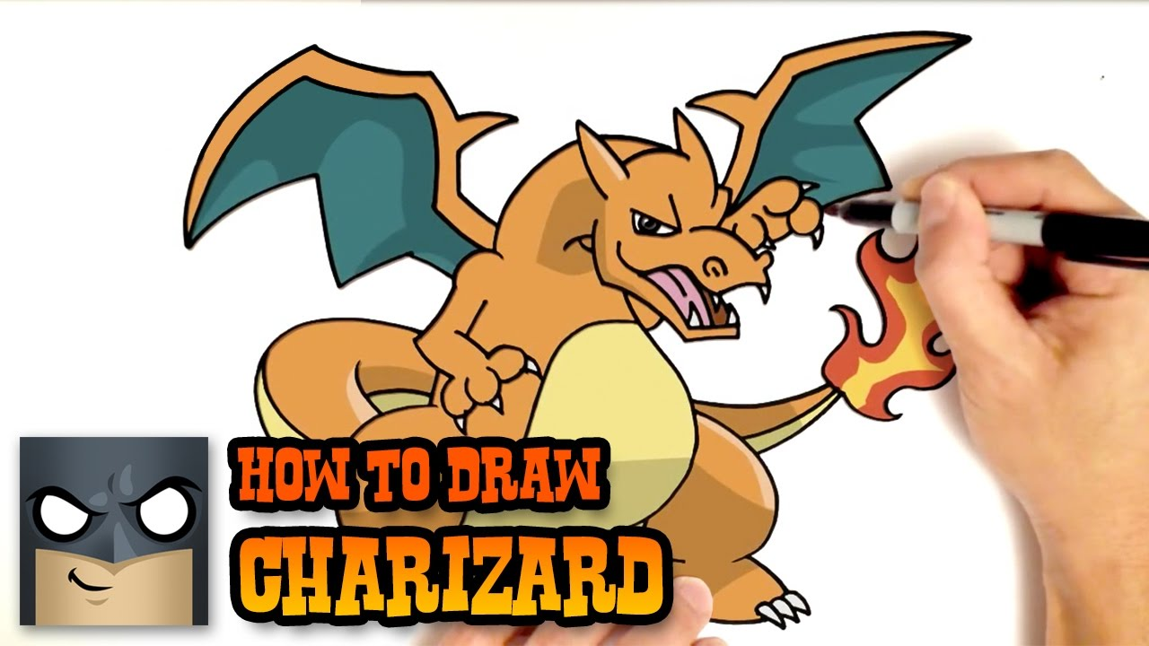 1280x720 How To Draw Charizard Pokemon