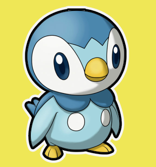314x337 How To Draw Piplup From Pokemon How To Draw Dat