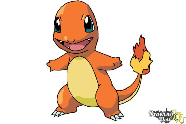600x400 How To Draw Pokemon Charmander