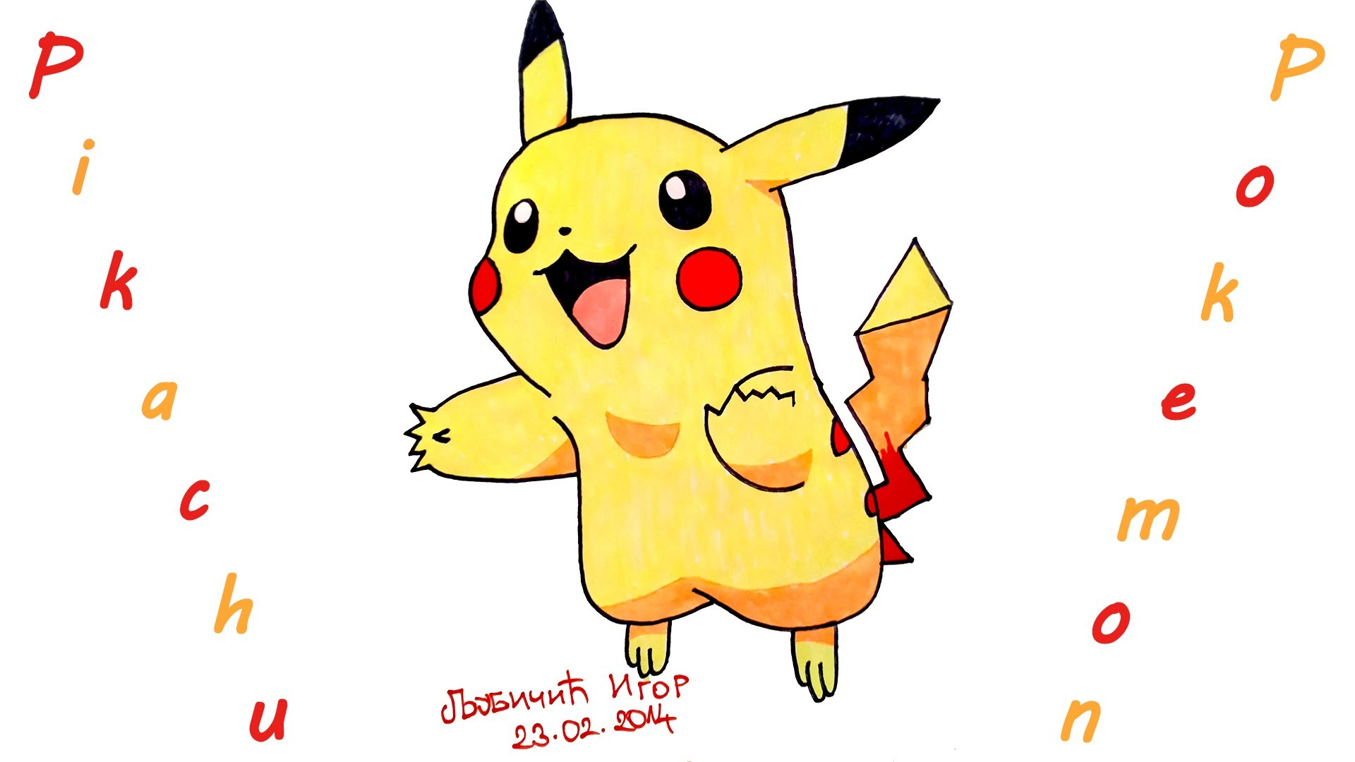 1920x1080 Diy How To Draw Pokemon Characters Easypikachu, Draw Easy Stuff
