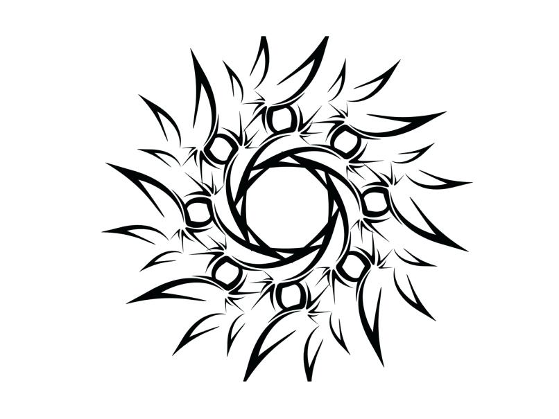 806x605 simple tribal design simple tribal tattoo design amazing simple