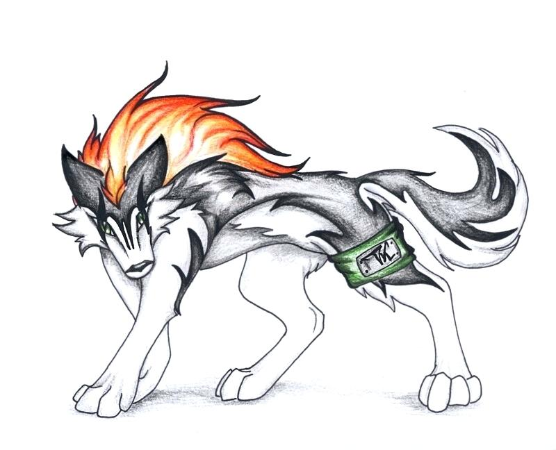Cool Drawings Of Anime Wolves
