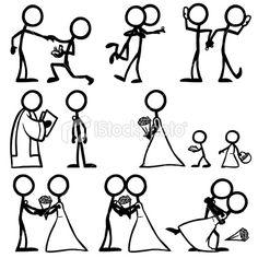 236x236 Best Stick Men Drawings Images In Doodles, Stick Figure