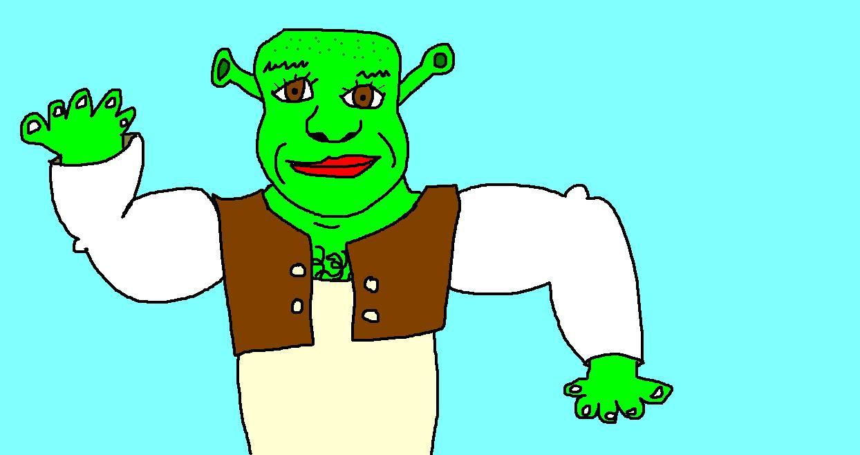 1244x658 Shrek My Coolest Drawings Ever!