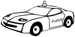 259x128 download police car sketch for kids clipart police car drawing