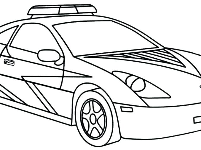 678x504 police car coloring how to draw police car coloring