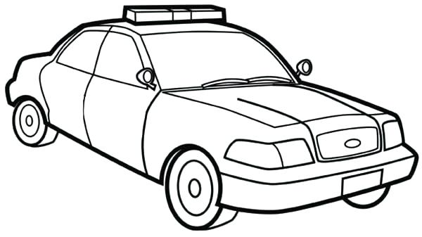 600x337 police car coloring police car coloring picture pages for of cars