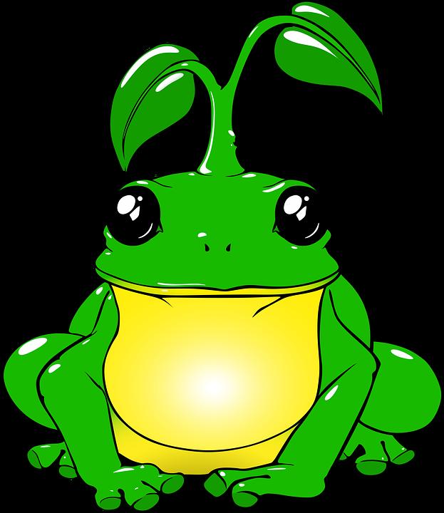 623x720 bullfrog drawing lilypad huge freebie! download for powerpoint