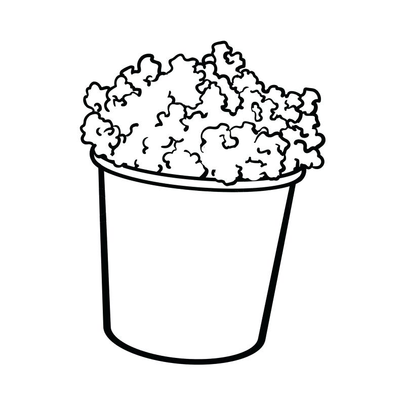 800x800 drawing of popcorn my favorite how to draw popcorn popcorn posters