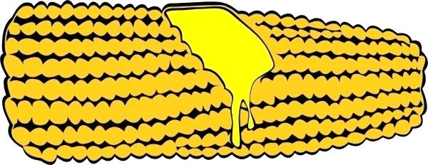 600x232 Corn On The Cob Drawing Corn On The Cob Clip Art Corn Plant