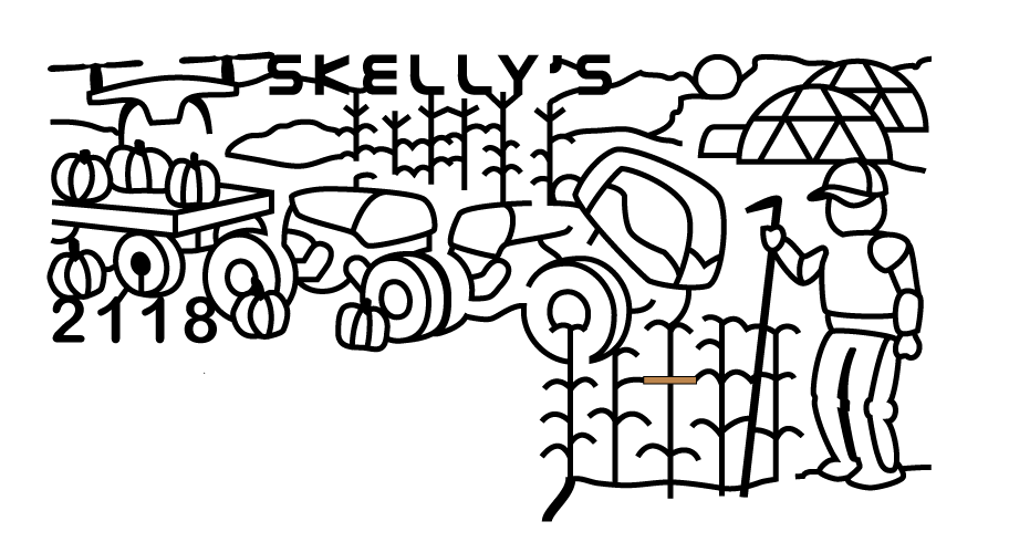 912x490 Skelly's Time Travel Maze Skelly's Farm Market