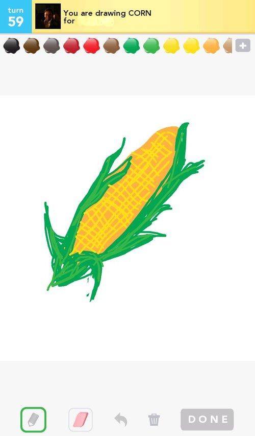 500x853 Corn Drawings