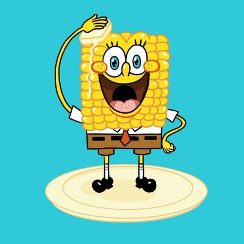 500x500 daily drawings daily drawing sponge cob or corn on the bob