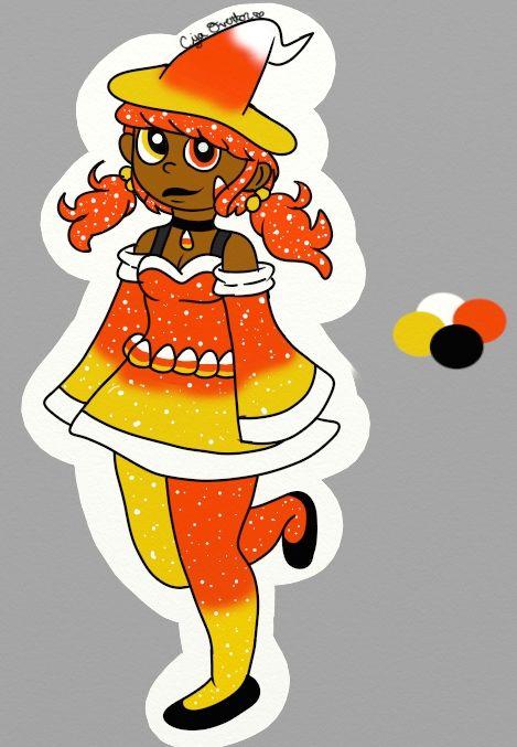 469x677 Princess Candy Corn